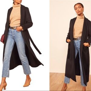 Reformation Greenwhich Coat